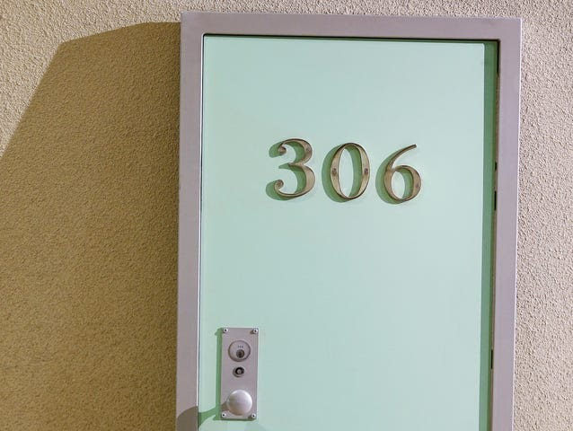 "The National Civil Rights Museum will be selling this one-off commemorative ""306"" Lorraine Motel door in the gift shop next week during MLK50."