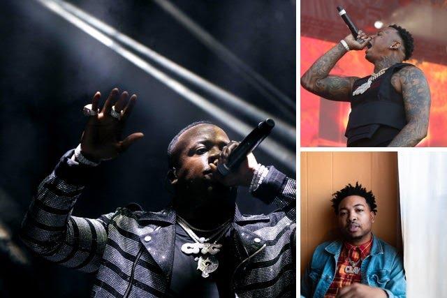 Memphis rappers: Yo Gotti, NLE Choppa, Moneybagg Yo, Three 6 Mafia