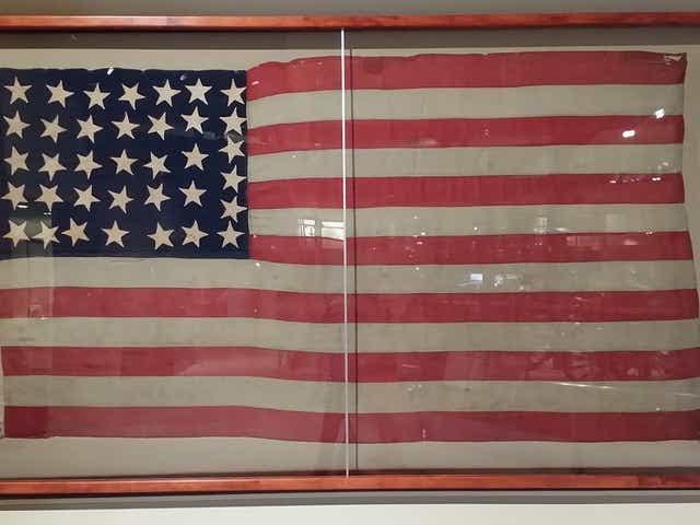 Thirty-Six Star U.S. Flag