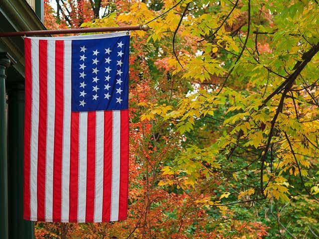 Twenty-Six Star U.S. Flag