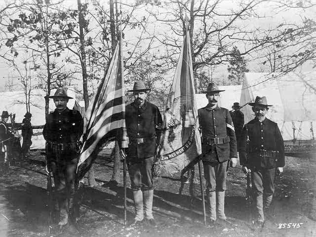 Forty-Five Star U.S. Flag