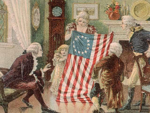 Thirteen-Star U.S. Flag