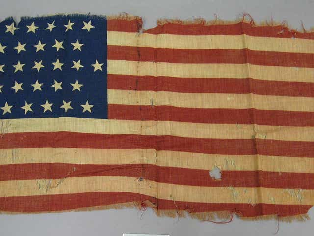 Thirty-Three Star U.S. Flag