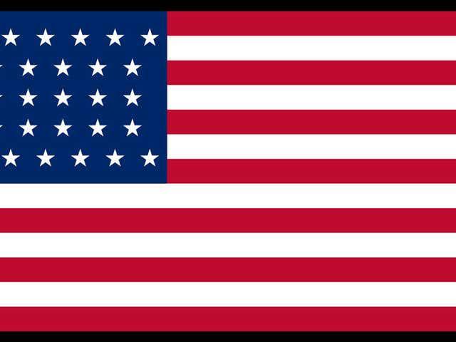 Thirty-Two Star U.S. Flag