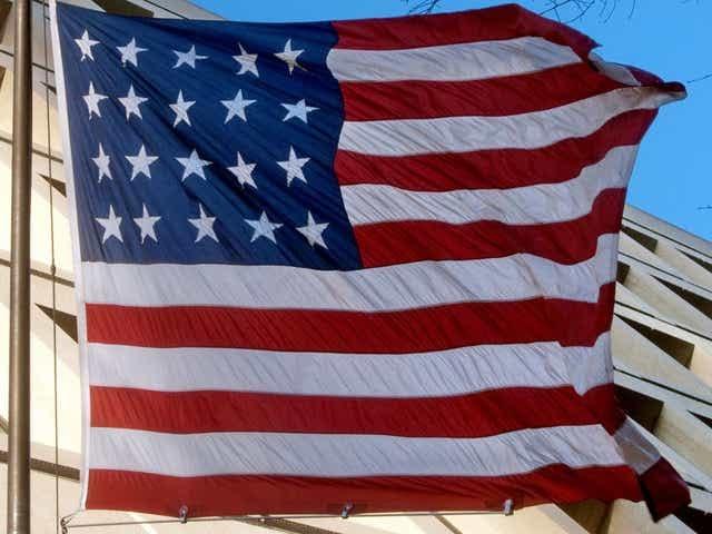 Twenty-Star U.S. Flag